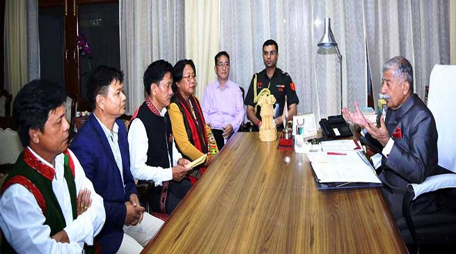 Itanagar: ABK Delegation calls on the Governor