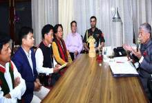 Itanagar:  ABK Delegation calls on the Governor