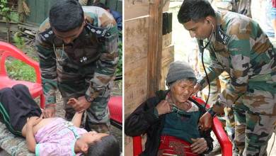 Photo of Arunachal: Army conducts medical camp in Taksing