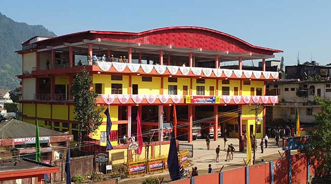 Itanagar: CS inaugurates Multi storied fire Station & Yoga Centre