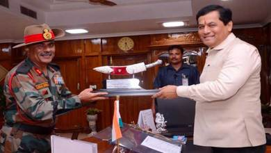 Photo of Assam: GOC Red Horns division meet chief minister Sonowal