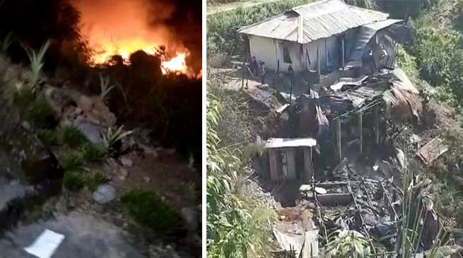 Itanagar: Four member of a family burnt alive in fire mishap