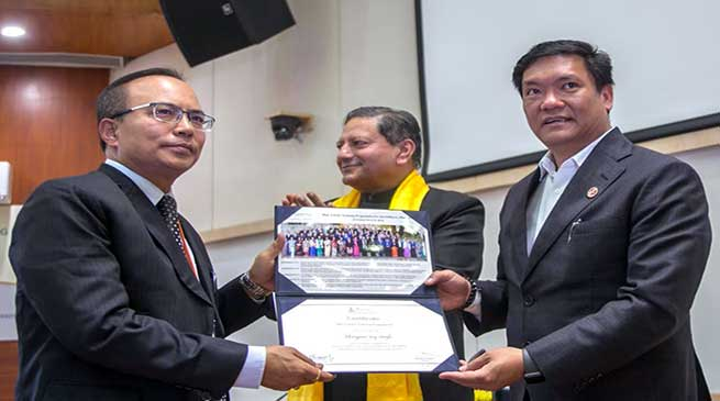 IAS officers can play an effective role in binding the country together- Pema Khandu