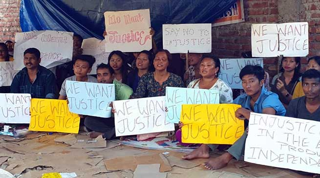 Itanagar: Bamang Felix will meet with protesting candidates on Thursday