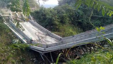 Photo of Arunachal: Under construction steel suspension bridge near Balemu collapse, 4 injured