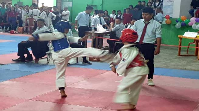 Arunachal: Taekwondo championship with a motto ' No to drug yes to sports'