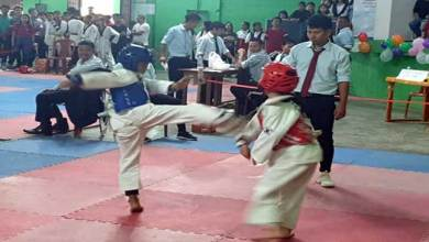 Photo of Arunachal: Taekwondo championship with a motto ' No to drug yes to sports'