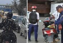 Photo of Itanagar- Helmetless cop caught on camera in capital complex
