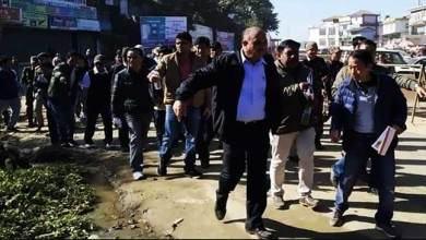 Itanagar: Security of Itanagar-Naharlagun NH 415 handed to ADM Talo Potom