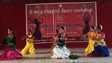 Arunachal: Classical dance workshop cum training inaugurated