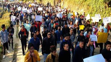 Photo of Arunachal students join anti-CAB protest