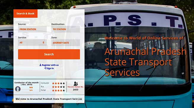 Arunachal: Nakap Nalo inaugurates e-Ticketing Web-Portal of APSTS