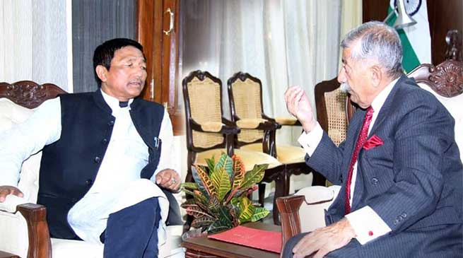 Arunachal: Agriculture Minister calls on the Governor