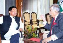 Photo of Arunachal: Agriculture Minister calls on the Governor