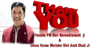 Photo of PemaKhandu thanks PM, HM forexempting Arunachal from CAB