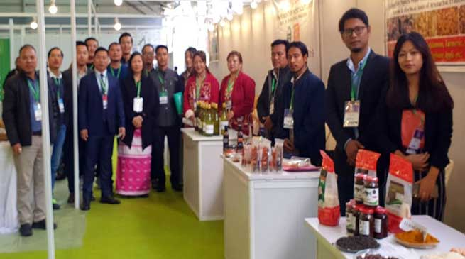 Meghalaya: North East Food Show- huge crowd in Arunachal's stalls