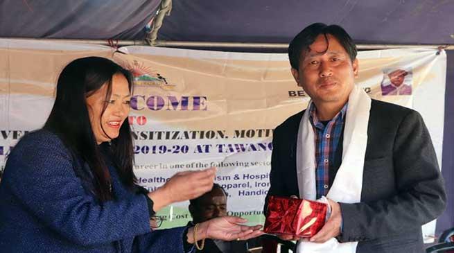 Arunachal: Skill Development programme held at Tawang