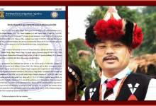 Photo of Tirong Aboh killing case: NIA files charge-sheet against NSCN (IM) cadres