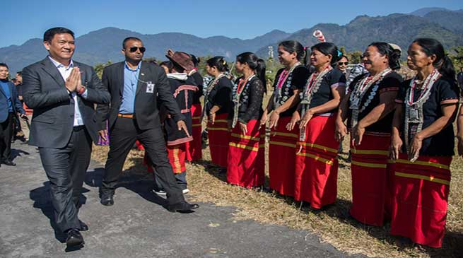 State govt to review the land acquisition process- Pema Khandu