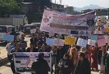 Photo of Itanagar: Protest rally demanding action against alleged rape accused