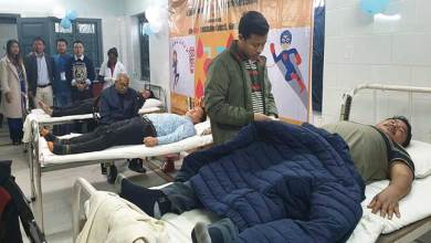 Photo of APCS aspirants donate 105 units of Blood in service of humanity