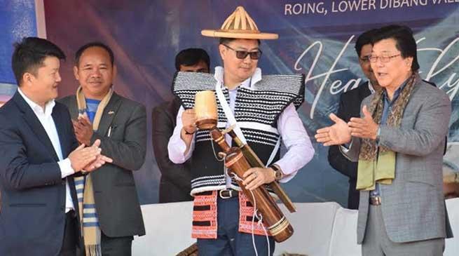 Next Olympian may be from Arunachal, hopes Kiren Rijiju