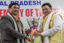 Photo of Arunachal: Pema Khandu attends handing and taking over ceremony of State BJP President