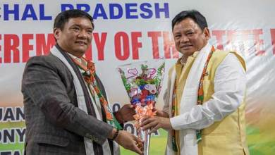 Arunachal: Pema Khandu attends handing and taking over ceremony of State BJP President