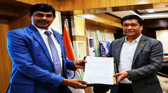 Arunachal: State Govt granted extension of Petroleum Mining Lease for the Kharsang Oilfield