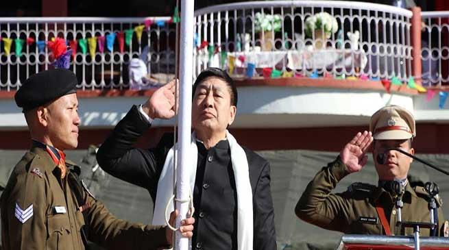 Arunachal: 71st Republic day celebrated in Tawang