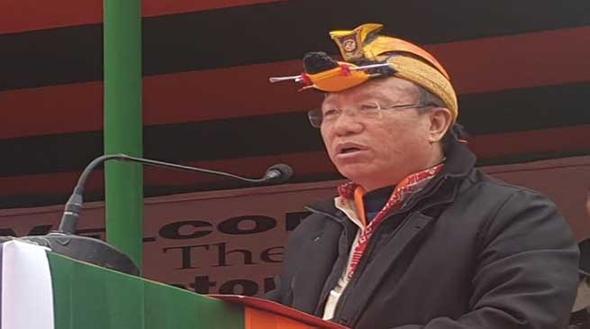 Arunachal: Tedir appeal all stakeholders to extend support to TAH construction
