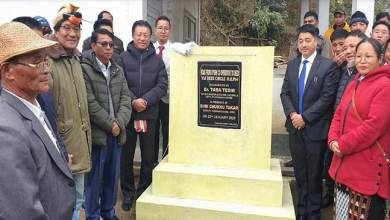 Photo of Arunachal: Taba Tedir inaugurates several infrastructure for Deed township