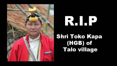 Photo of Arunachal: Toko Welfare Association condoles demise of Toko Kapa