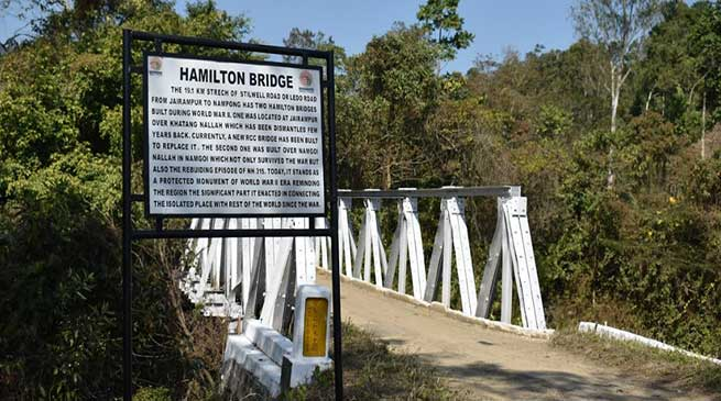 Arunachal: Hamilton bridge of the British era still stands firmly
