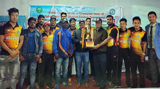 Kra Daadi Cricket Team felicitated by CAoKDD