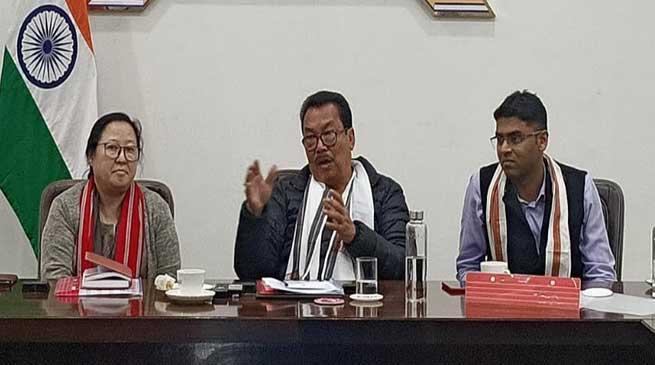 Arunachal: Chowna Mein holds Pre-Budget Consultative Meeting