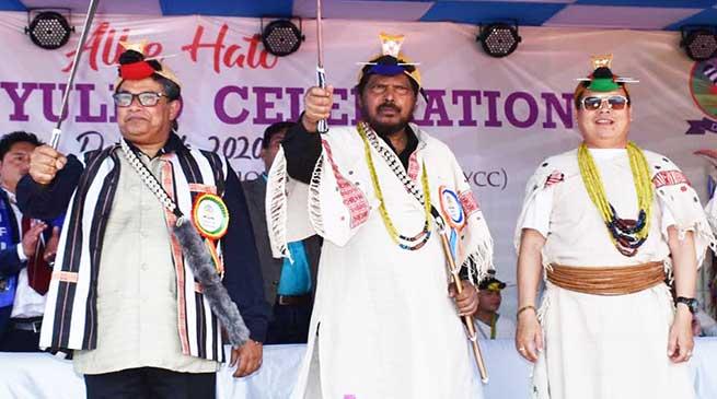 Arunachal Pradesh has to do industrial development- Ramdas Athawale
