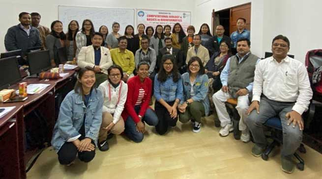 Itanagar: Workshop on Computational Biology held in RGU