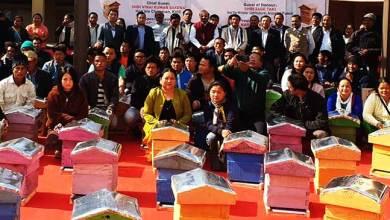 Photo of Arunachal: Chairman KVIC distributes 1000 bee boxes to farmers