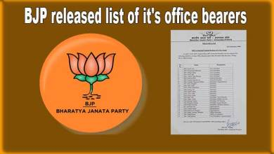 Photo of Arunachal: State BJP released list of it's new office bearers
