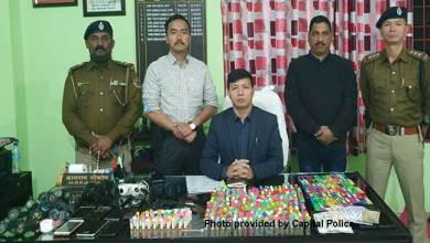 Photo of Itanagar: 2 Drug Peddlers with brown sugars nabbed, stolen mobiles, watches recovered