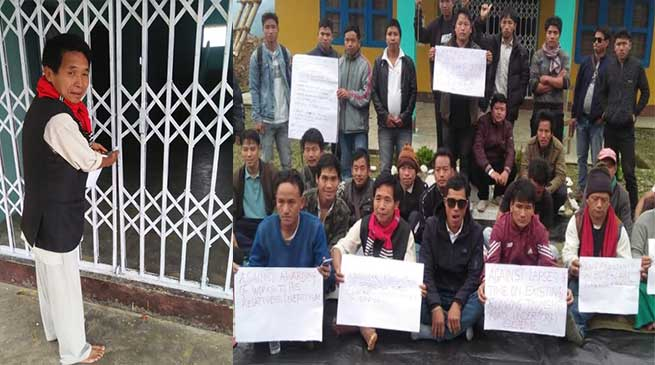 Arunachal: 32nd Rumgong Development Committee locks up EE PWD office citing prolong absence of official
