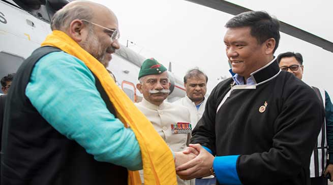 China opposes to Home Minister Amit Shah's visit to Arunachal Pradesh