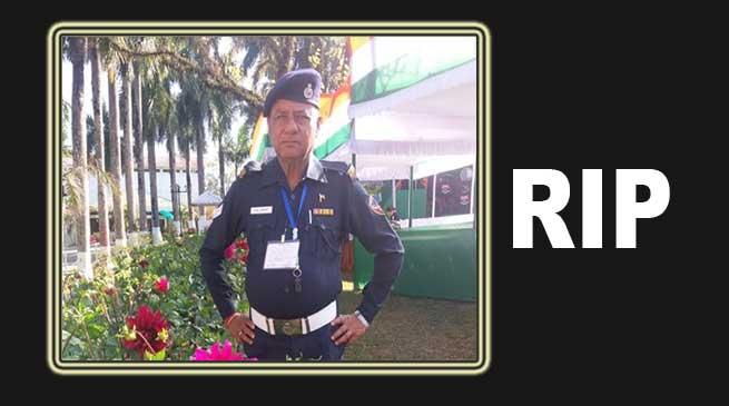 Itanagar: Dedicated traffic police D B Chetry passed away