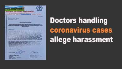 Photo of AIMS Doctors handling coronavirus cases allege harassment