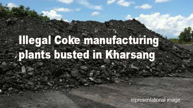 Arunachal: Illegal Coke manufacturing plants busted in Kharsang