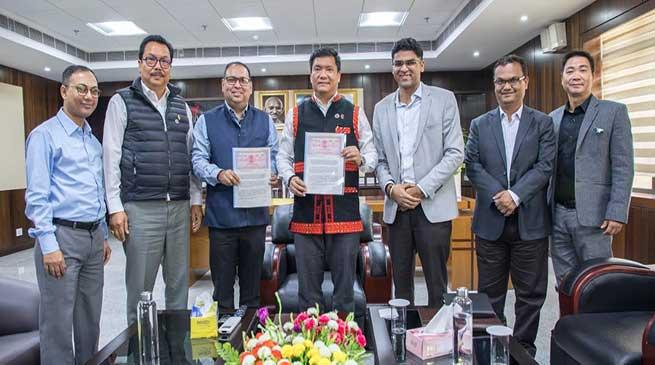 MoU signed between Arunachal Govt and IIMCCIP