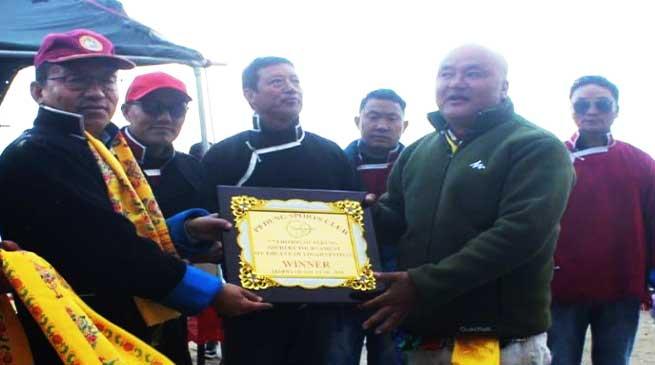 Arunachal: Pedung Archery tournament concludes
