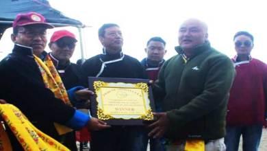 Photo of Arunachal: Pedung Archery tournament concludes