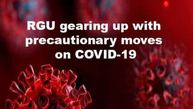 Photo of Coronavirus Scare: RGU gearing up with precautionary moves on COVID-19